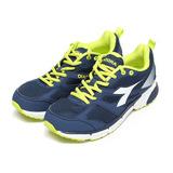 (男) DIADORA 透氣輕量避震慢跑鞋 深藍綠 鞋全家福