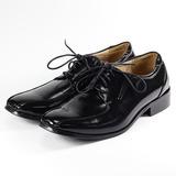 (男) SARTORI 綁帶少男紳仕鞋 黑 鞋全家福