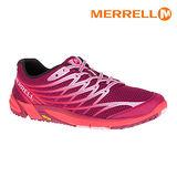 MERRELL 女 BARE ACCESS ARC 4 ML35842輕量赤足跑鞋 / 城市綠洲 (足跟差0mm.防臭抗菌.黃金大底)