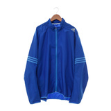 Adidas (男) 尼龍防風外套 藍 AX6496
