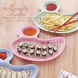 【Homely Zakka】麥趣食光健康環保小麥鴨子瀝水餐盤 (公主粉)