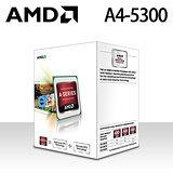 【AMD】FM2 APU A4-5300/3.4GHz/雙核心/HD7480D CPU處理器(全新盒裝)