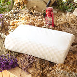 LAMINA 波浪按摩乳膠枕-1入