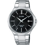 ALBA 玩轉時尚東京石英腕錶-黑/40mm VJ42-X184D(AS9B45X1)