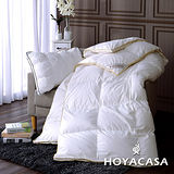 《HOYACASA羽絨之戀》法國90/10立體隔間羽絨被(雙人6x7尺)