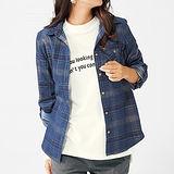 日本Portcros 預購-燈芯絨格紋襯衫(共兩色)