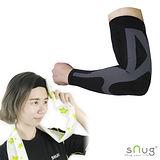 【SNUG運動壓縮系列】 健康運動壓縮袖套 限量搭贈涼感巾 S/M/L(C014)