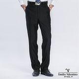 Emilio Valentino 范倫提諾超柔平面西褲-黑