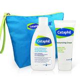Cetaphil 舒特膚換季保養修護保濕組(溫和潔膚乳200mL +長效潤膚霜100g)