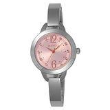 MANGO 晶透光彩氣質時尚腕錶-MA6651L-12