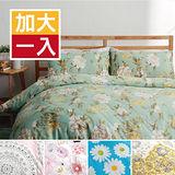 【任選1入】美夢元素 台灣製精梳棉 兩用被床包組-雙人加大四件式