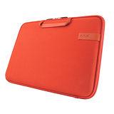 Cozistyle 13吋 Macbook Air /Macbook Pro(Retina) 智能散熱防潑水手提硬殼電腦保護套-帆布熔岩橘