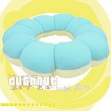【任選】超人氣!波堤甜甜圈可變身坐墊(海洋藍)