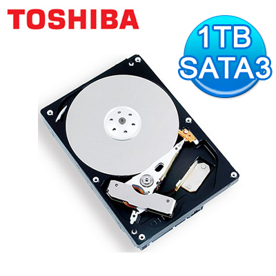 Toshiba 東芝 3.5吋 1TB SATA3 內接硬碟 (DT01ACA100)