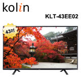 KOLIN歌林 43吋LED顯示器+視訊盒KLT-43EE02(含基本運送/不安裝)