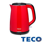 【福利品】TECO東元 1.8L雙層不鏽鋼快煮壺 XYFYK1801