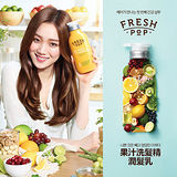 韓國 FRESH POP 果汁洗髮精&潤髮乳 500ml