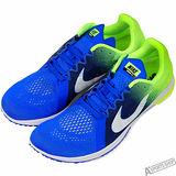 NIKE 男/女 NIKE ZOOM STREAK LT 3 慢跑鞋 藍 -819038413