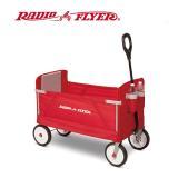 美國【RadioFlyer】摺學家三合一折疊旅行拖車
