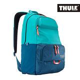 THULE 都樂-多功能15吋電腦雙肩後背包TDMB-115-水藍/孔雀藍(忠欣公司貨)