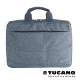 TUCANO LINEA 15吋簡約風尚後背三用包- 灰藍