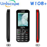 優思UNISCOPE W108+ 3G雙卡/軍人/高科技專用手機(無相機)/超長待機