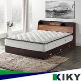 【KIKY】二代武藏-小抽屜加高雙人5尺床頭箱