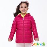 bossini女童-高效熱能輕羽絨03玫瑰色-(品)