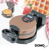 【DOMO】不鏽鋼翻轉式鬆餅機-DM9006AWT