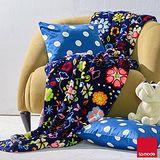 La mode寢飾 雙人超細雪芙蓉毯 (花卉)