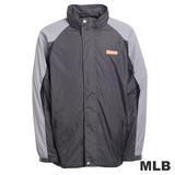 (男)MLB-巴爾的摩金鶯隊可拆帽風衣外套-深灰