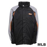 (男)MLB-巴爾的摩金鶯隊可拆帽風衣外套-黑