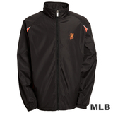(男)MLB-巴爾的摩金鶯隊立領風衣外套-黑