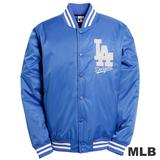 (男)MLB-洛杉磯道奇隊鋪棉棒球外套-藍