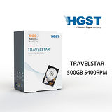 HGST Travelstar 500GB/2.5 英吋/SATA 硬碟 (HTS545050A7E680)