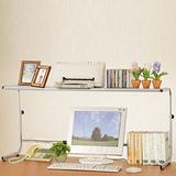 機能首選-(C&B)可調式桌上置物架(高度寬度皆可調)