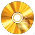三菱 CD-R 52x 80min 地球金白金100片