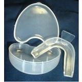 外銷歐美之防磨牙.大眾運動,單層軟式護牙套組,(3牙套+3收納盒)可有效防止磨牙