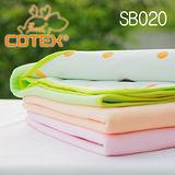 COTEX可透舒 兒童防水透氣圓點毛巾絨止尿毯