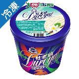 杜老爺特級冰淇淋-香草480G/桶