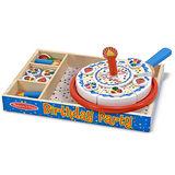 美國 Melissa & Doug 木製玩食趣 -【生日派對】玩具組