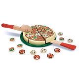 美國 Melissa & Doug木製玩食趣 -【Pizza比薩派對】玩具組