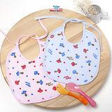 【聖哥-明日之星Newstar】MIT嬰兒新生兒口水巾小圍兜-防溼透氣設計-不會弄濕衣服-柔軟親膚-回饋特價