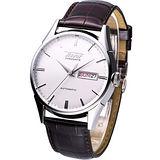 TISSOT Visodate 1957 經典復刻版機械腕錶T0194301603101