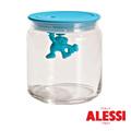 ALESSI 小人兒玻璃密封罐700cc-藍