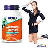 NOW健而婷-黃金六效 加強鈣配方食品(100顆/瓶)