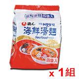 韓國農心海鮮麵*4包