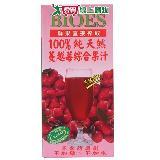 囍瑞BIOES100%純天然蔓越莓綜合果汁1000ml