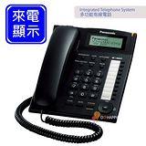 《Panasonic》 多功能來電顯示有線電話 KX-TS880 (經典黑)