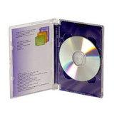 德國進口SuperJewel BOX 高優質精裝版 單片DVD 硬殼收納盒 (10片)
